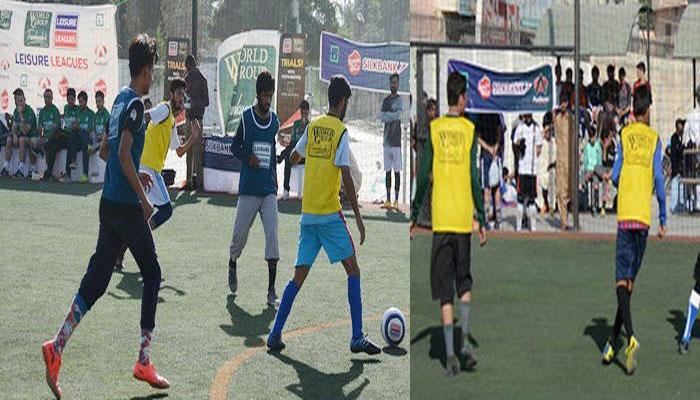 سوکا ورلڈ کپ فٹ بال:کوئٹہ میں اوپن ٹرائلز مکمل