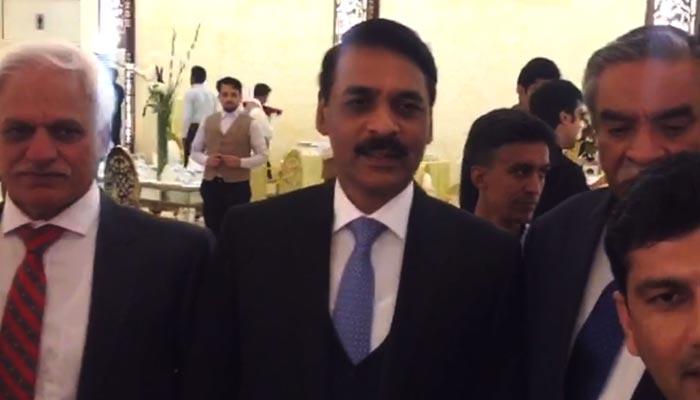 اسلام آباد میں عماد وسیم کی تقریب ولیمہ
