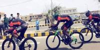 Ghulam Hussain And Nida Won National Cycle Race