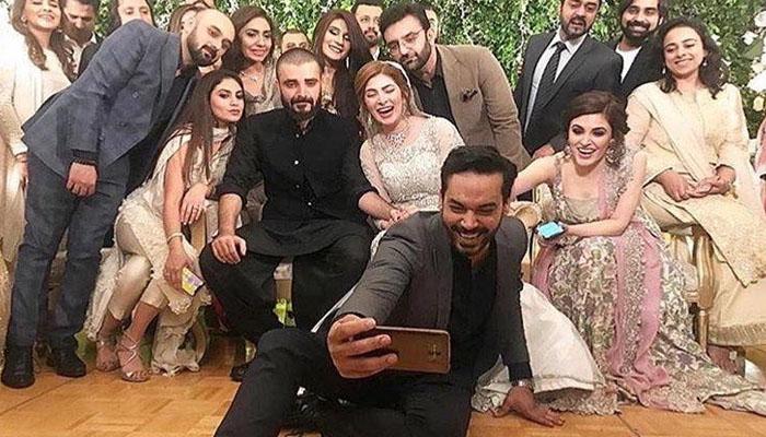 حمزہ علی عباسی اور نیمل خاور کی تقریب ولیمہ