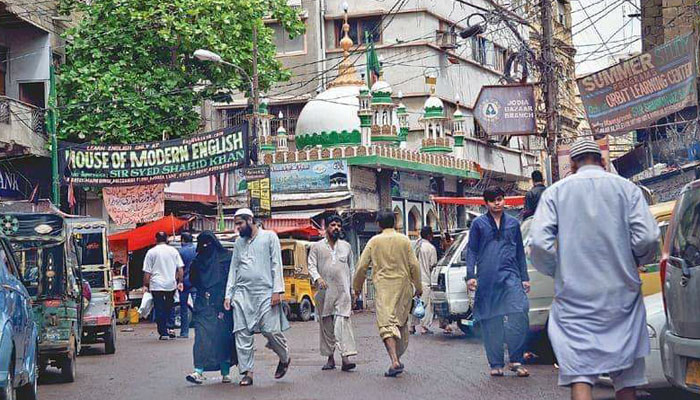 کراچی کا ایک کوچہ جو ''اچھی قبر'' کے نام سے معروف ہے