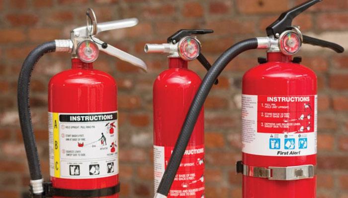 تعمیرات میں آگ سے بچاؤ کے انتظامات