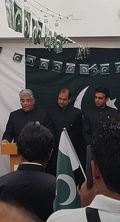جشن آزادی پاکستان کے حوالے سے تقاریب کا انعقاد