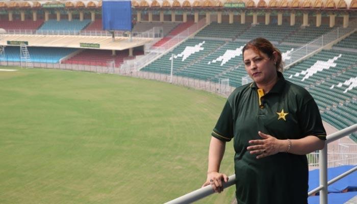 عافیہ امین ورلڈ کپ میں امپائرنگ کی خواہشمند