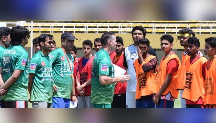 سوکا ورلڈ کپ فٹ بال: گراس روٹ پر کھلاڑیوں کی تلاش کا کام مکمل