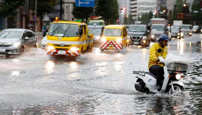 سمندری طوفان 'فیکسائی' ٹوکیو ریجن میں داخل