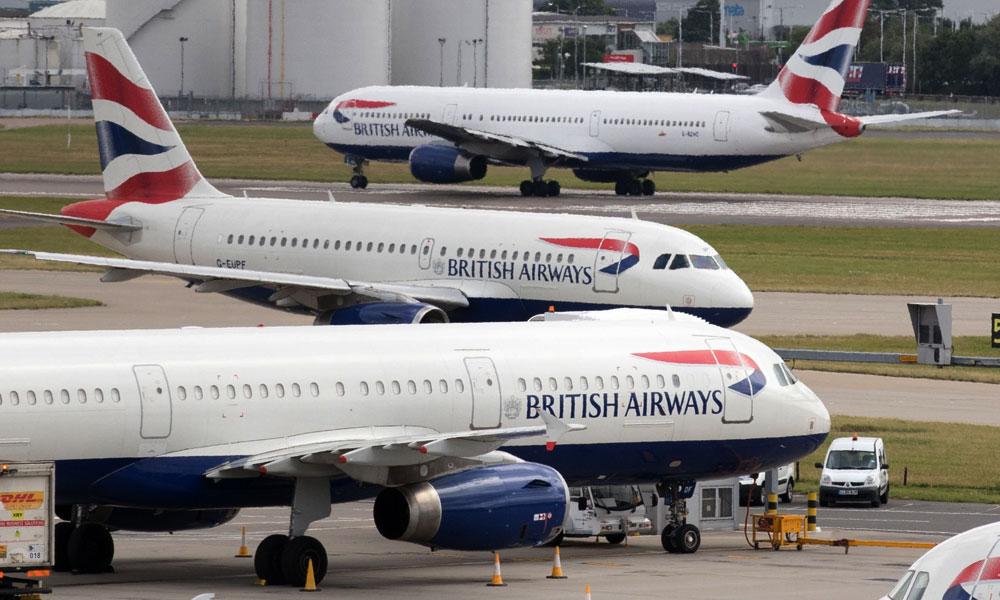 برٹش ایئرویز کے پائلٹوں ںے تاریخ میں پہلی بار ہڑتال کر دی