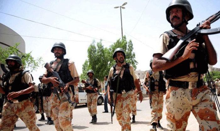کراچی : رینجرز کی کارروائی میں 7 ملزمان گرفتار