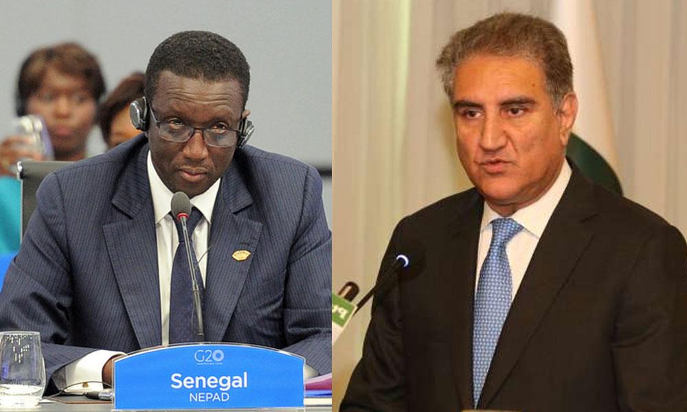 جنیوا,شاہ محمود کی سینیگال کےوزیر خارجہ سےملاقات