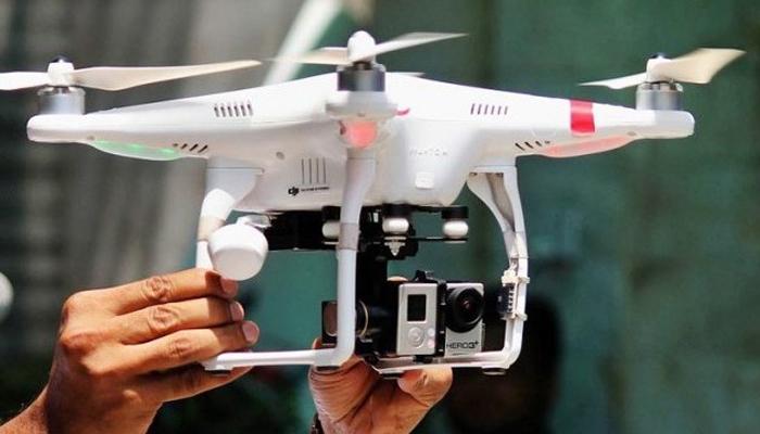 پولیس کی جانب سے عاشورہ جلوس کی ڈرون کیمروں سے مانیٹرنگ