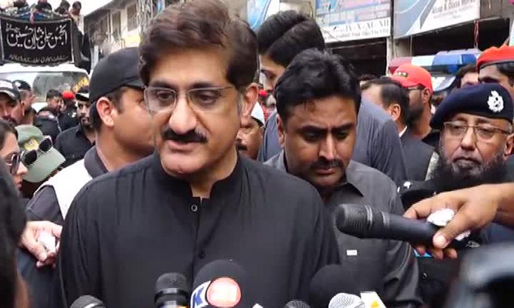 یومِ عاشور کی بخیر و عافیت تکمیل پر وزیرِ اعلیٰ سندھ کا اظہارِ تشکر