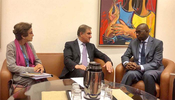 وزیر خارجہ کی او آئی سی کے سفیروں سے ملاقات