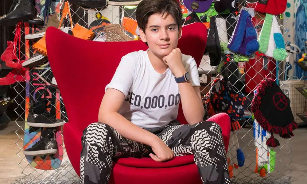 برطانیہ کا 14 سالہ طالبعلم کمپنی کا مالک کیسے بنا؟