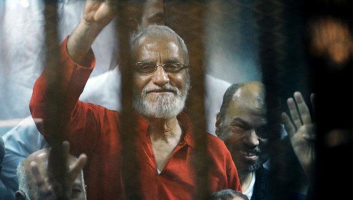 مصر : اخوان المسلمون کے 11 رہنمائوں کو عمر قید کی سزا