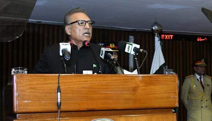صدرمملکت کے پارلیمنٹ کے مشترکہ اجلاس سے خطاب کا مکمل متن
