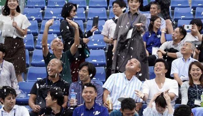 ٹوکیو اولمپکس، گرمی سےبچنے کیلئےمصنوعی برفباری کا تجربہ
