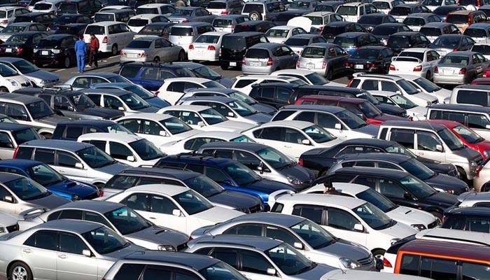 ملک میں کاروں کی فروخت 5 سال کی نچلی ترین سطح پر