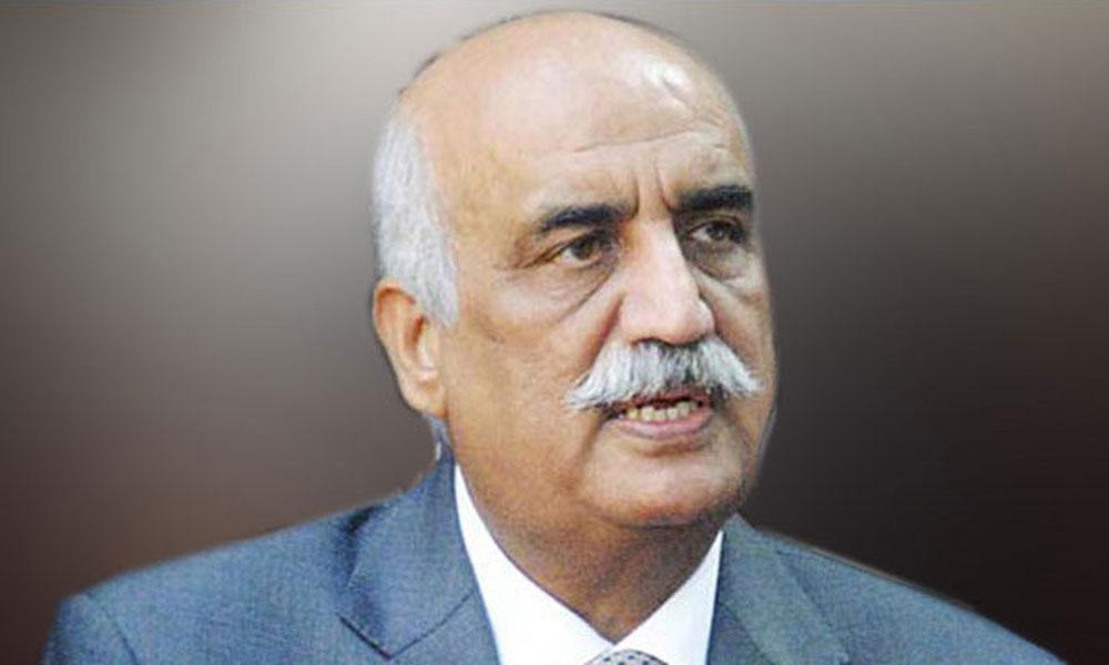 وزیرِ قانون کو قانون کے کٹہرے میں لایا جائے: خورشید شاہ
