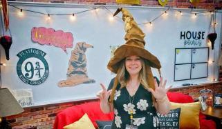 Harry Potter Super Fan Teacher Transforms Classroom Maryland