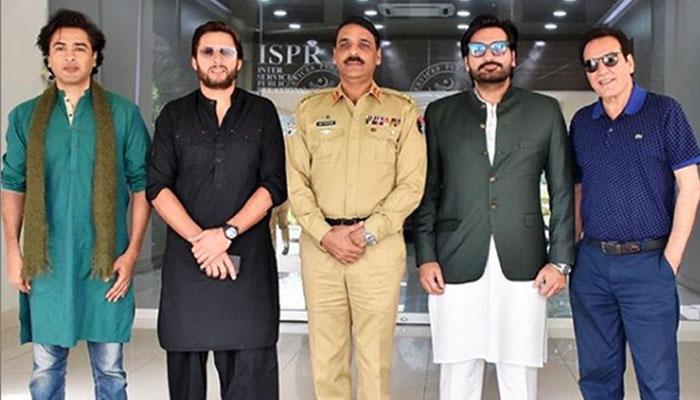 مظفر آباد جلسے کے بعد فنکاروں کے وی لاگز