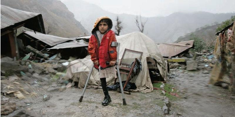 زلزلے میں ٹانگ سے محروم لڑکی کی عالمی مقابلوں تک رسائی