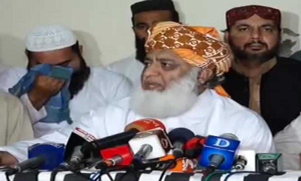 آرٹیکل 149 سے سندھ کی تقسیم کا تاثر دیا جا رہا ہے: فضل الرحمٰن