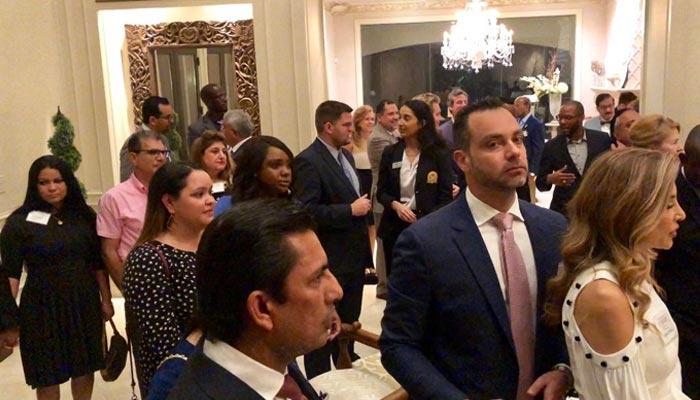 میئر ہیوسٹن کے اعزاز استقبالیہ، انتخابی فنڈریزنگ