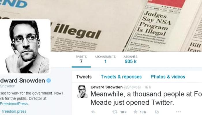 ایڈورڈ سنوڈن کا فرانس میں سیاسی پناہ کا دعویٰ