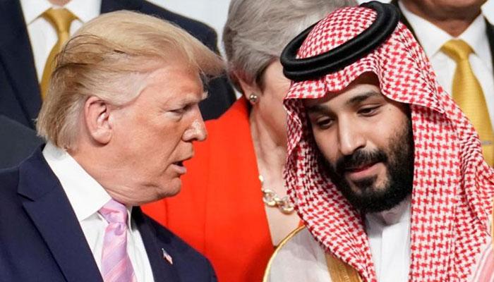ٹرمپ کی سعودی عرب کو دفاع میں مدد کی پیشکش