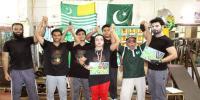 Tahir Ali Won Kashmir Solidarity Martial Art Trophy