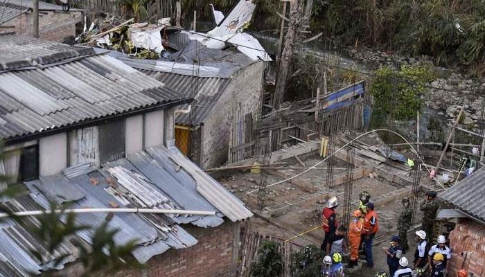 کولمبیا میں چھوٹا طیارہ گر کر تباہ ،7 افراد ہلاک