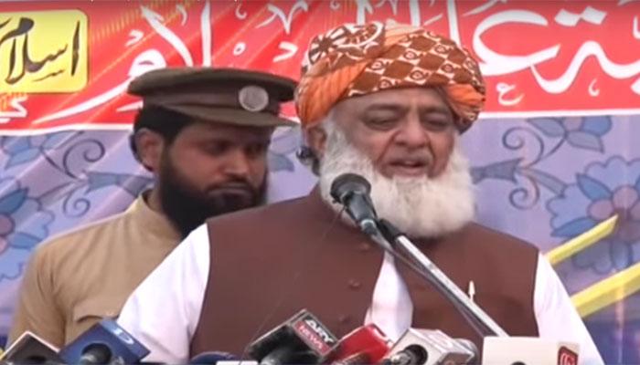 فضل الرحمٰن کا 15لاکھ افراد اسلام آباد لانے کا اعلان