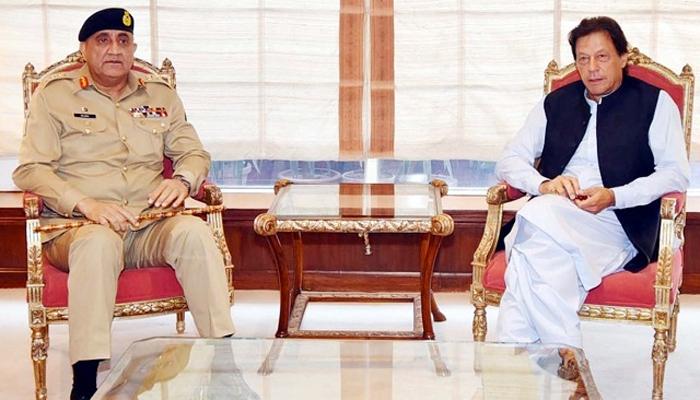 وزیر اعظم کی آرمی جیف سے ملاقات