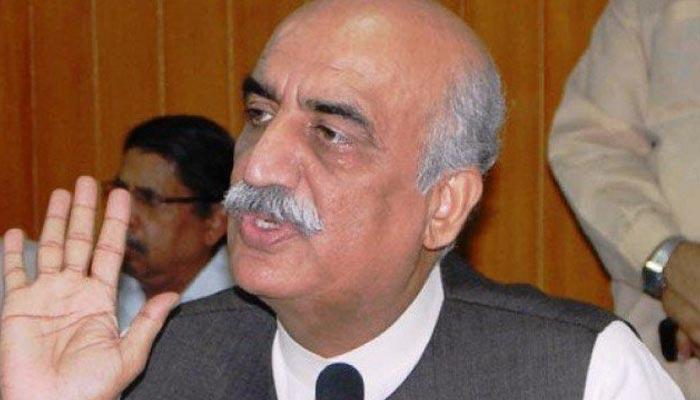 خورشید شاہ کو نیب نے اسلام آباد سے گرفتار کر لیا