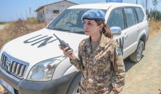 Major Fozia Perveen Serving In Un Mission In Cyprus