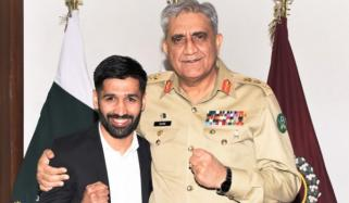 Army Chief Congratulated Mohammad Waseem On His Victory