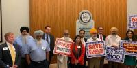 Modis Visit Of Huston Pakistanis And Kashmiris Arranged Protest Programme
