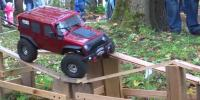 Bizarre Toy Car Obstacle Course In Russia