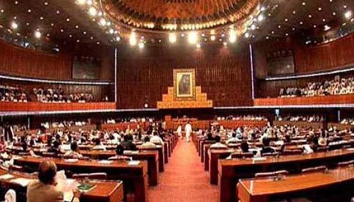 قومی اسمبلی :خورشید شاہ کی گرفتاری کے خلاف ، اپوزیشن کی ہنگامہ آرائی