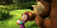 Russian Cartoon Masha And Bear In Uk Cinemas