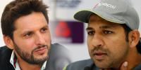 Shahid Afridi Advice Sarfraz Ahmed To Leave Test Captaincy