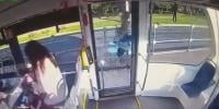 Frustrated Moscow Tram Passenger Smashes Door With Axe