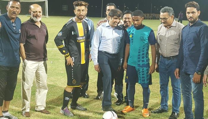 فٹ بال: پاک پی ڈبلیو ڈی اور ایف سی کراچی کا میچ برابر