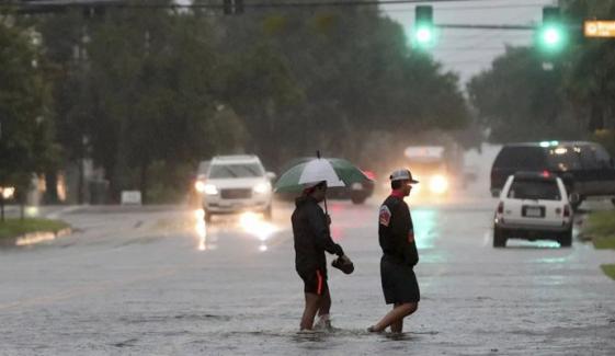 Storm Imelda Lashes Texas With Life Threatening Amounts Of Rainfall