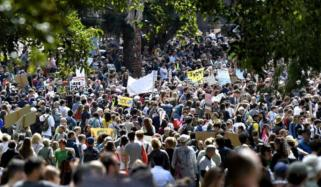 Thousands Gather For Climate Change March In Australia