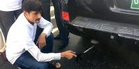 Murtaza Wahab Checked His Vehicle Fitness