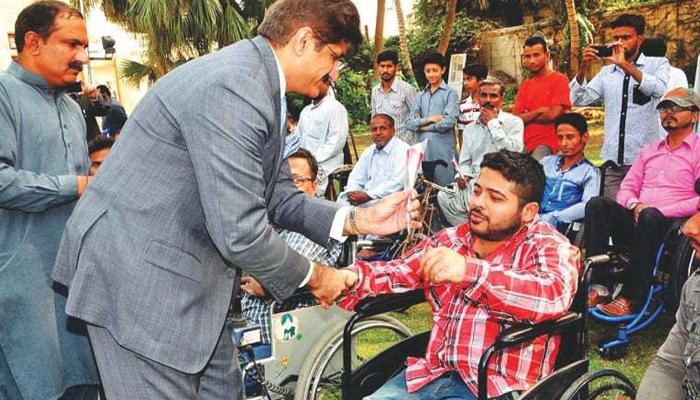 سندھ میں معذور افراد کیلئےخصوصی عدالتیں قائم