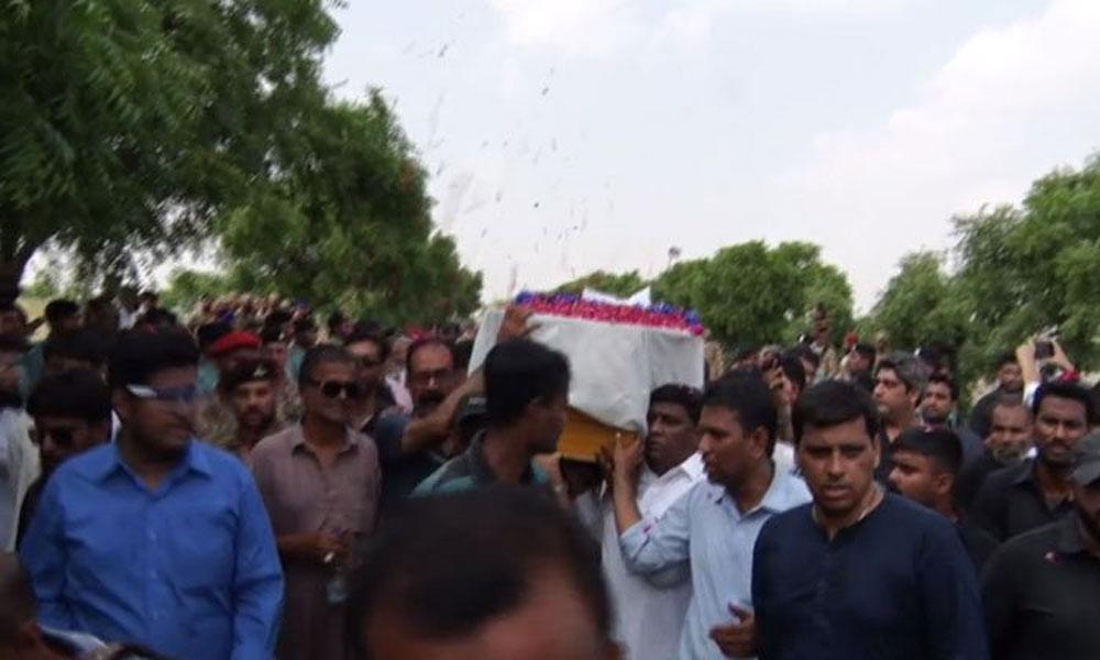 میجر عدیل کراچی، سپاہی فراز آزاد کشمیر میں سپردِ خاک
