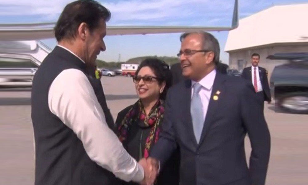 وزیرِ اعظم عمران خان نیو یارک پہنچ گئے