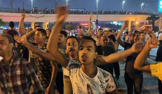 Anti Sisi Protests Break Out In Egypt